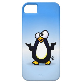 Pondering Penguin iPhone 5 Cover