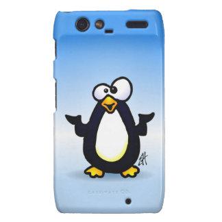 Pondering Penguin Droid RAZR Case
