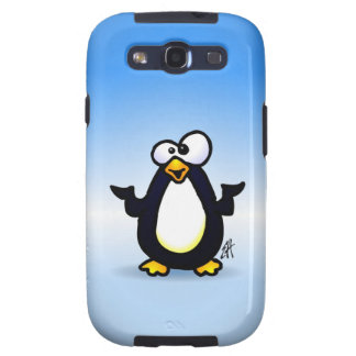 Pondering Penguin Galaxy SIII Cover