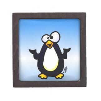 Pondering Penguin Gift Box