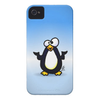 Pondering Penguin iPhone 4 Cover