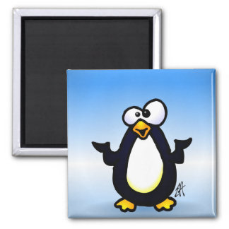 Pondering Penguin Magnet