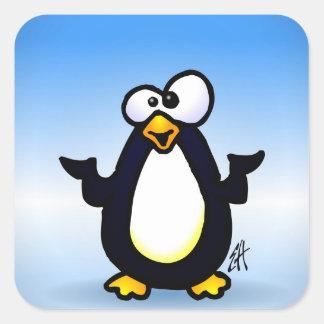 Pondering Penguin Stickers