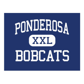Ponderosa - Bobcats - Junior - Klamath Falls Postcard