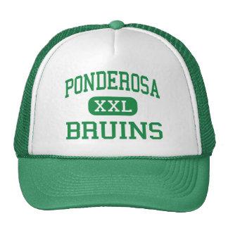 Ponderosa - Bruins - High - Shingle Springs Trucker Hat