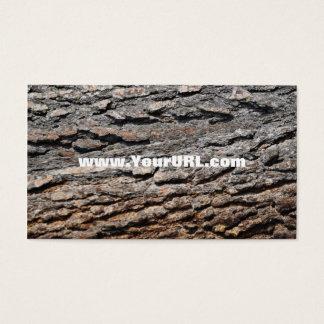 Ponderosa Pine Bark Business Card