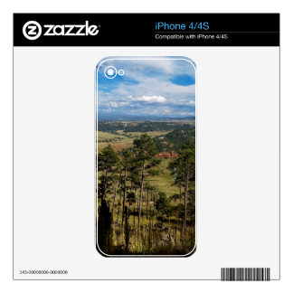 Ponderosa Pine from Devils Tower Skin For The iPhone 4