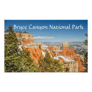 Ponderosa Point, Bryce Canyon National Park Poster