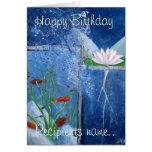 Pondlife personalizó la tarjeta del arte del feliz