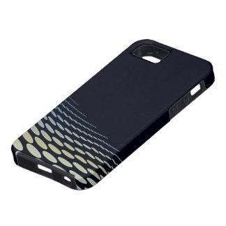 Pone de relieve l moderno elegante abstracto funda para iPhone SE/5/5s