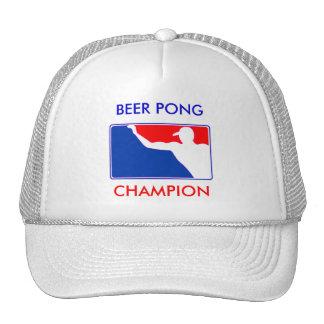 PONG, BEER PONG , CHAMPION MESH HAT