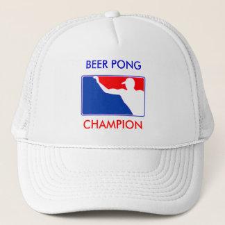 PONG, BEER PONG , CHAMPION TRUCKER HAT