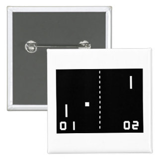 Pong Pinback Button