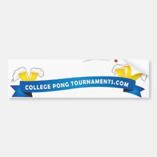 Pong Tournaments Bumper Sticker