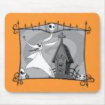 Ponga a cero adentro el cementerio tapete de ratón
