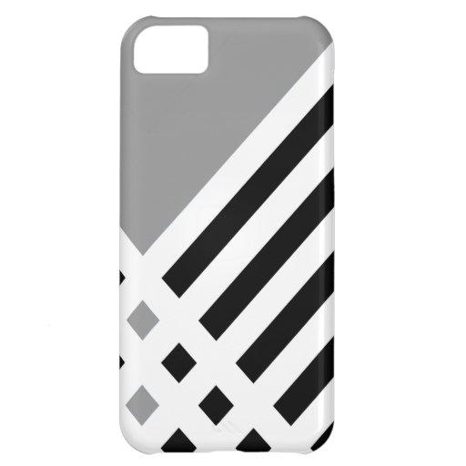 Ponga la caja del iPhone de la marfil III (gris)