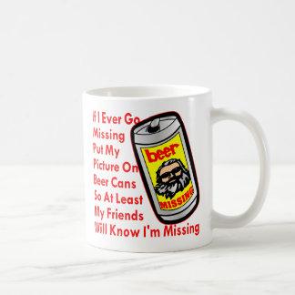 Ponga mi imagen en las latas de cerveza taza de café