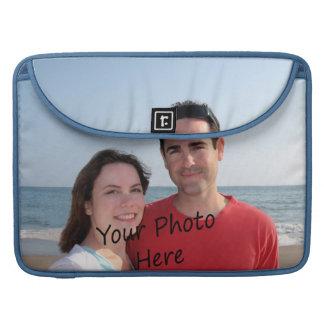 Ponga su foto en un favorable ordenador portátil funda para macbooks