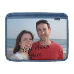 Ponga su foto en una cubierta del ordenador portát funda para macbook air