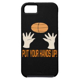 Ponga sus manos funda para iPhone SE/5/5s