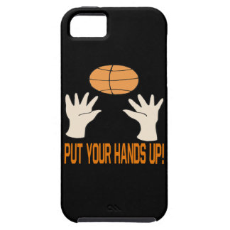 Ponga sus manos iPhone 5 carcasa