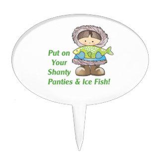 ¡Ponga sus pescados del hielo! Decoraciones Para Tartas