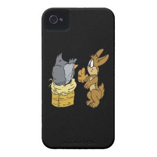 Ponga sus propios huevos Case-Mate iPhone 4 cobertura