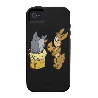 Ponga sus propios huevos Case-Mate iPhone 4 fundas
