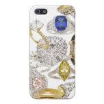 Ponga un anillo en él joyería Bling del boda del c iPhone 5 Protectores