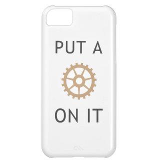 Ponga un engranaje en él - caso de Steampunk Funda Para iPhone 5C