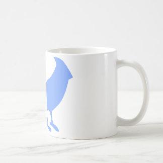 Ponga un pájaro en él taza