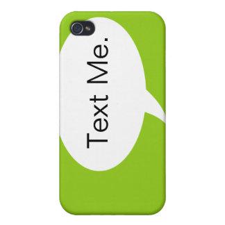 Ponga verde el texto yo caso del iPhone 4 de la iPhone 4 Carcasa