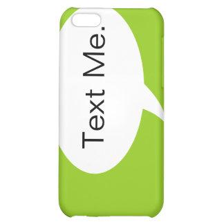 Ponga verde el texto yo caso del iPhone 4 de la