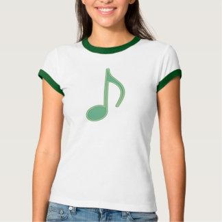 Ponga verde la octava nota playera