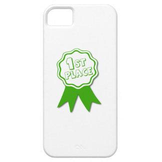 Ponga verde la primera cinta del lugar iPhone 5 Case-Mate cárcasa
