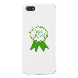 Ponga verde la primera cinta del lugar iPhone 5 protector