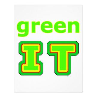 póngalo verde el gibsphotoart del MUSEO Membrete Personalizado