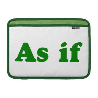 Póngase verde como si funda macbook air