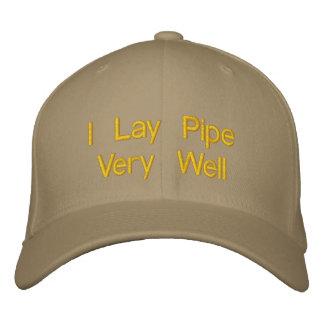 Pongo el tubo muy bien gorras bordadas