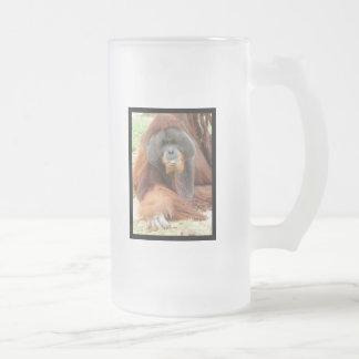 Pongo Orangutan Ape Beer Mug