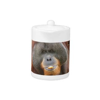 Pongo Orangutan Ape Teapot