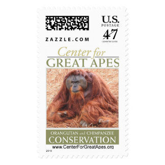 Pongo Postage Stamp