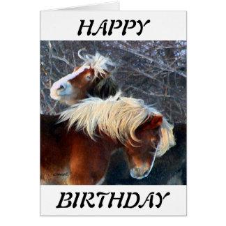 ponies card
