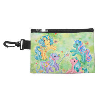 Ponies Catching Butterflies Accessory Bag