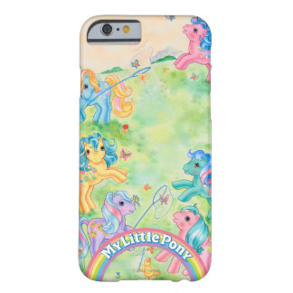 Ponies Catching Butterflies Barely There iPhone 6 Case