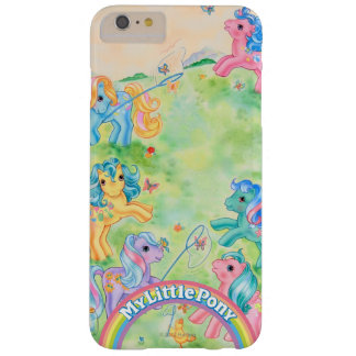 Ponies Catching Butterflies Barely There iPhone 6 Plus Case