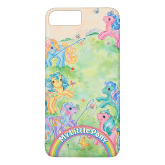 Ponies Catching Butterflies iPhone 8 Plus/7 Plus Case