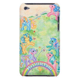 Ponies Catching Butterflies iPod Touch Case-Mate Case