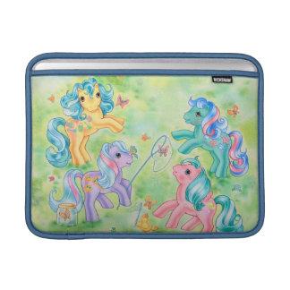 Ponies Catching Butterflies MacBook Sleeve