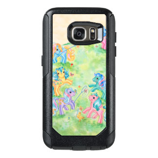 Ponies Catching Butterflies OtterBox Samsung Galaxy S7 Case
